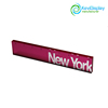 Pink Perspex Ruler Stationery Item With