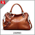 Women's Urban Style Genuine Leather Tote Shoulder Bag