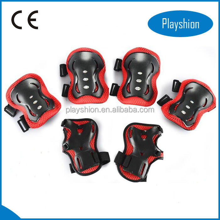 Knee Elbow Wrist Protective Pads with Adjustable Size Suitable for Multi Outdoor Sports