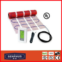 Electric Tile Floor Heating Mats Radiant