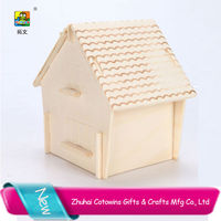 2014 cotowins mini house diy kits super 3d puzzle