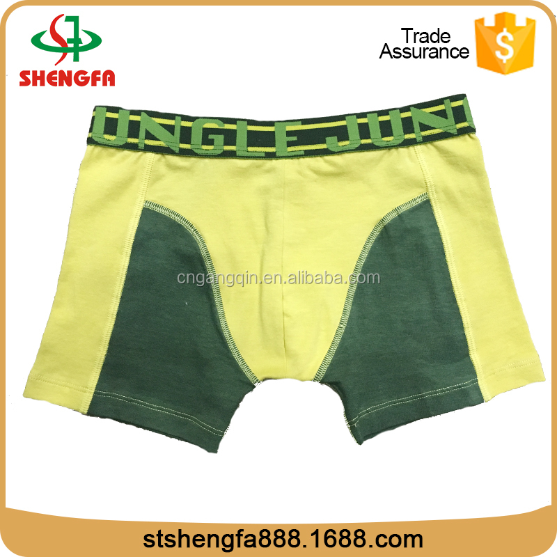 Accept OEM make to order cotton panties for men