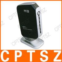 USB 2.0 LPR Print Server Adapter Ethernet Networking 4 Port Share 4 USB Devices