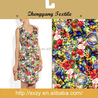 Hot sale floral cotton silk material