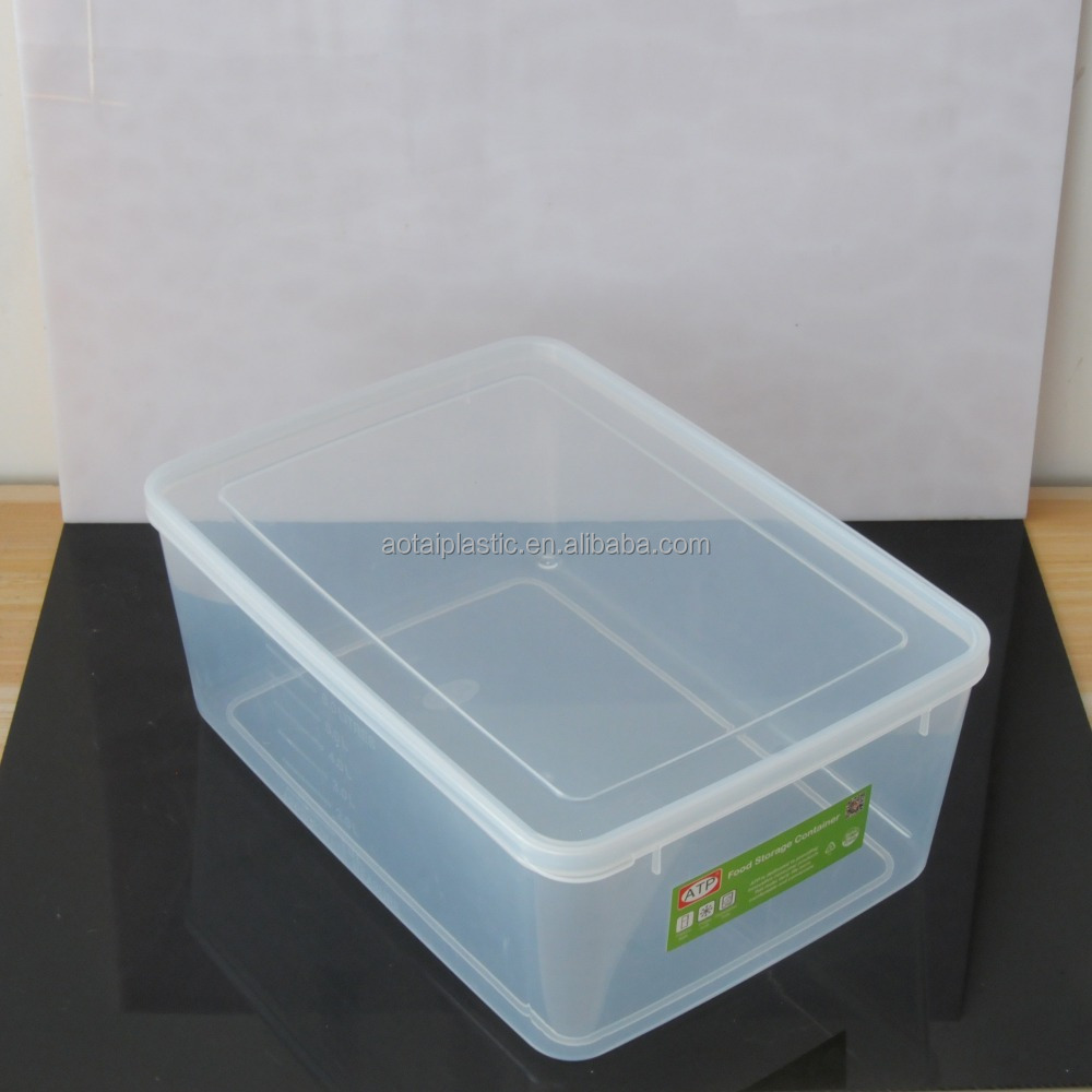 wholesale plastic transparent container food storage box