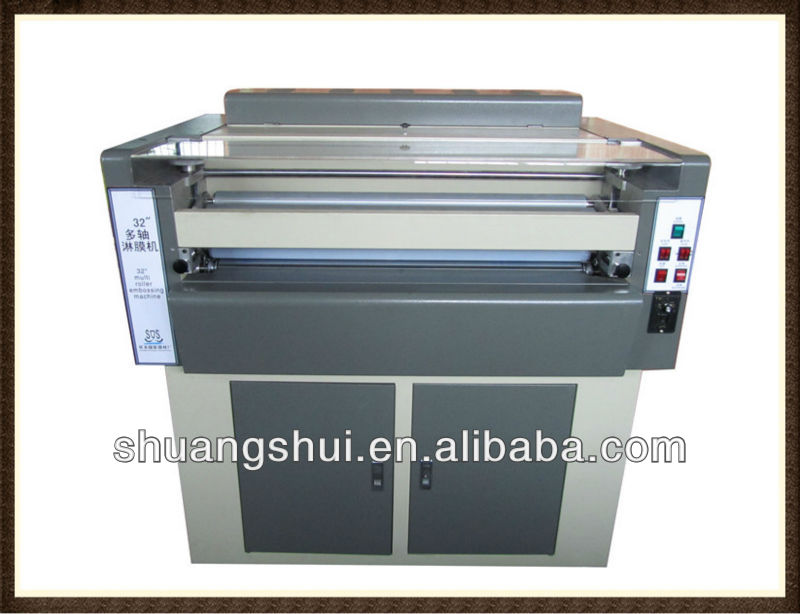 "36"" UV varnish embossing machine"
