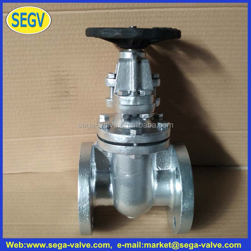 stem gate valve jis 10k cast iron gate valve