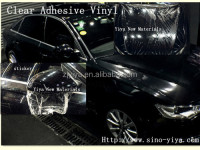 print vest transparent self adhesive vinyl vehicle wrap film cold laminator