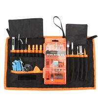 Commonly used electrician tool set have diamond tweezers and eyeglass repair tool