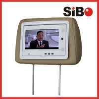 Car/Bus/Taxi Vehicle Headrest Tablet PC With SIBO Customized Software