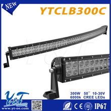 2016 China Manufacturer Auto Spare Parts Waterproof IP 68 Flood Spot Cambo Beam 300w LED Light Bar Fit for all Vehicles