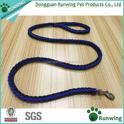 Customized Colours Braided and Nylon Dog Lead Leash Suitable for S/M/L dogs