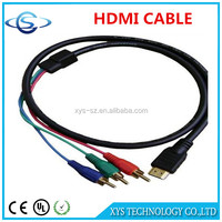 high quality HDMI to 3RCA avi cable