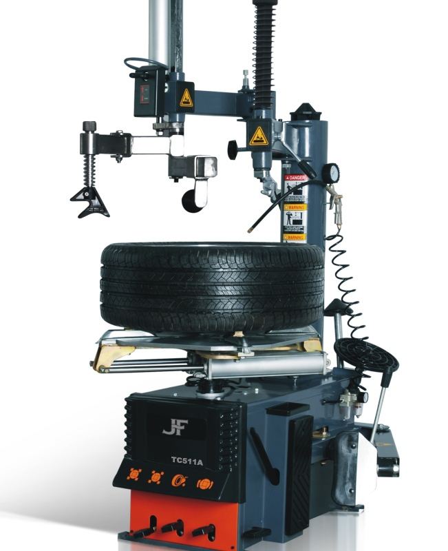 Competitive semiautomatic tire changer tyre bead breaker