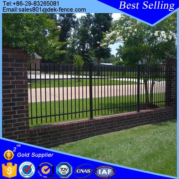 Decorative short wrought iron garden fence design buy