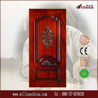 Hot sale solid wood carving indian door designs