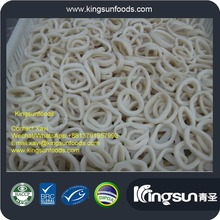 good price frozen todarodes pacificus pure white squid rings
