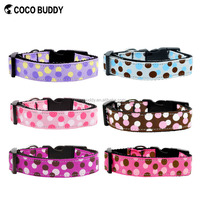 "Pet Summer Collars for Dogs 3/4"" M Ice Cream Print Inspired Ultimate Pink Adjustable Basic Padded Dog Collar"