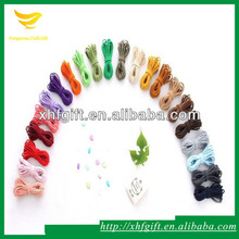 Factory sale colorful round drawstring elastic cord