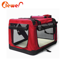 Outdoor Soft Folding Travel Pet Crate Kennel Dog Carrier