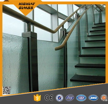 Laminated Glass Panels for Stair and Roof