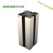 Low noise residential air cleaner ozone generator