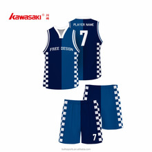2016 unique basketball jersey designs Quick Dry 100% polyester on sale