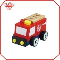 Advanced quality control equipment make wooden toy cars