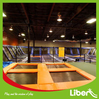 According to your room size Size Sky Zone Indoor Trampoline Park Trampoline Springs/Trampoline Nets/Trampoline Cover