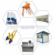 high quality Mobile Concrete Batching Plant Equipment for sale