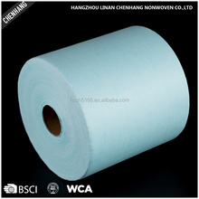 Industrial Kitchen Cleaning Woodpulp Disposable Cleaning Dry Nonwoven Wipes In Roll
