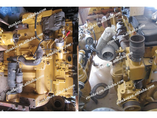 Original C9 Complete engine for 330D 330C