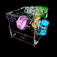 Clear and transparent acrylic pet box wholesale