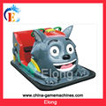(RS-EL1434) Children Funny Gray wolf Shape Battery Car, kids battery car