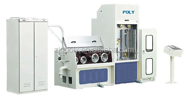 Automatic adjustment traversing copper wire drawing machine with annealing