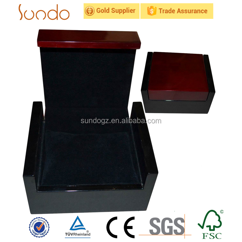 sofa style wooden watch boxes two tone painted