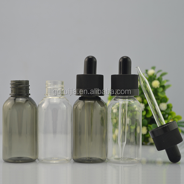 Free samples!!! cosmetic bottles pet 30ml olive oil plastic bottles with drip tips