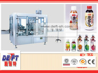 production line small juice filling capping machine