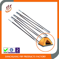 Folding Outdoor Camping Fiberglass Tent Pole