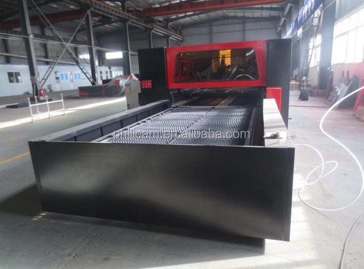 High speed cnc fiber 1000w 500w 200w metal laser cutting machine for carbon steel aluminum