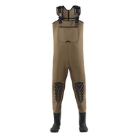 4mm neoprene bootfoot fly fishing boots waders fullbody chest men plus size waterproof wholesales waders suit