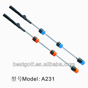 A231 New Golf Swing Trainer\good use golf swing trainer\ golf training equipment