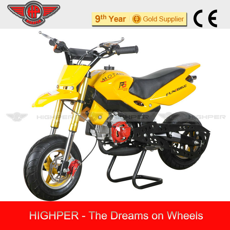 2013 new High Qualty Mini 49cc 2 stroke Cross Mini Motard, Pocket Bike for Kids with CE