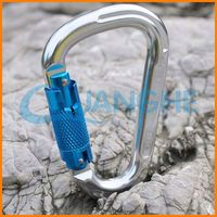 Hot sale! high quality! regular stainless steel carabiner keyring