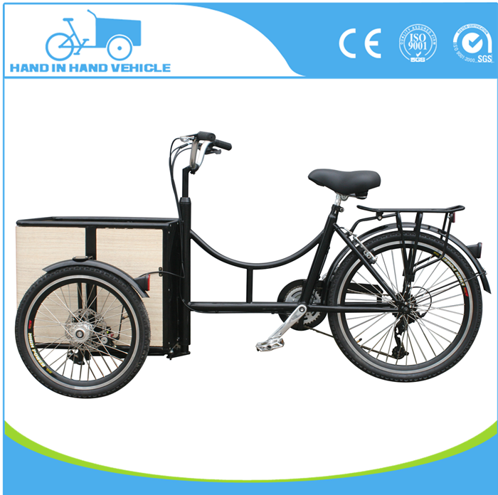 front loading Holland mini cargo bike tricycle producer factory