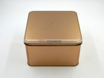 Cookies Square Metal Tin Box for Food Packing