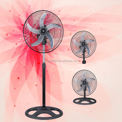 home appliances 360 degree 18 inch 3 in 1 national electric stand fan with 5 blade