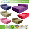 2016 hot sale flexible cooling memory foam sofa bed