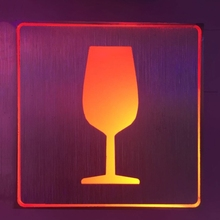 RED WINE Indicator Light led bar light LED <strong>Sign</strong>