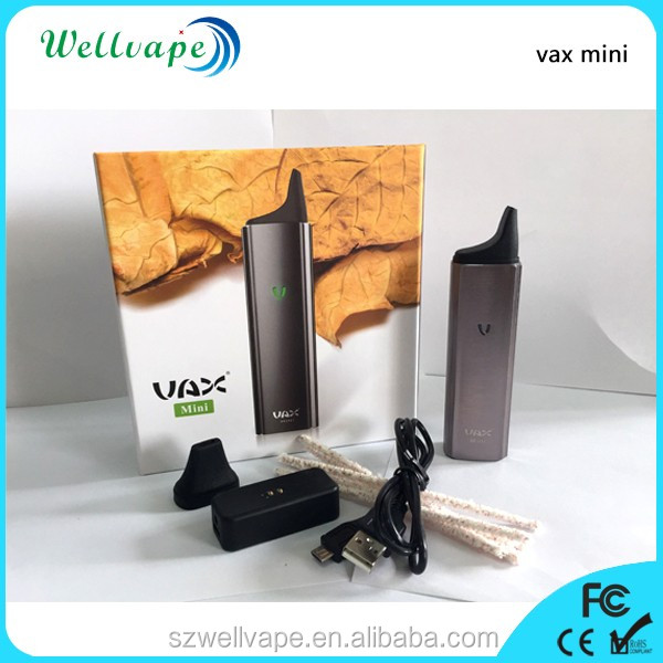 Electronic cigarette manufacturer china hottest Vax Mini vaporizer